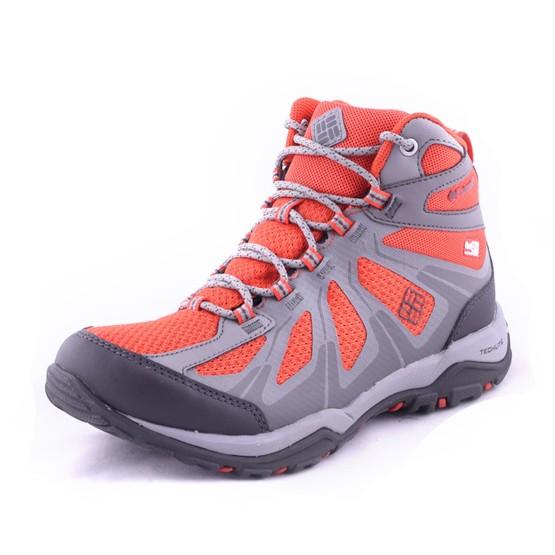 נעלי קולומביה לנשים Columbia Peakfreak Xcrsn II Xcel Mid Outdry - אפור/כתום