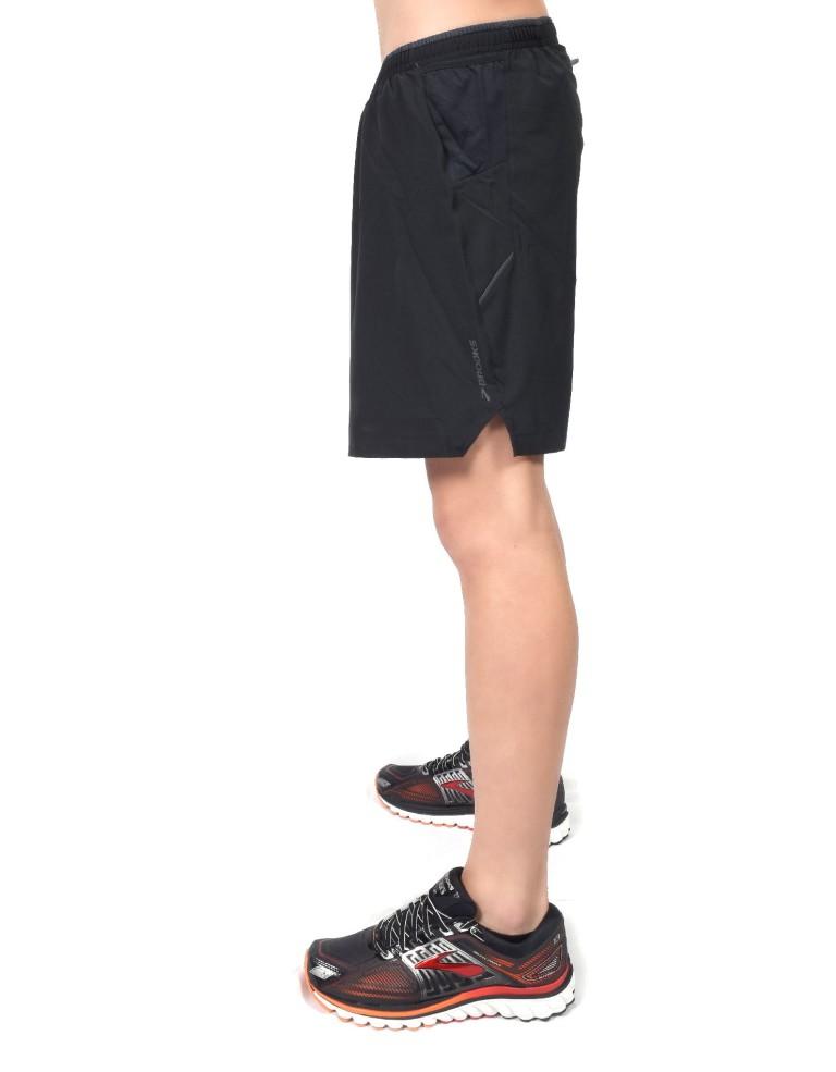 """נעלי ברוקס לגברים Brooks Sherpa 7"""" 2-in-1 Short - שחור"""