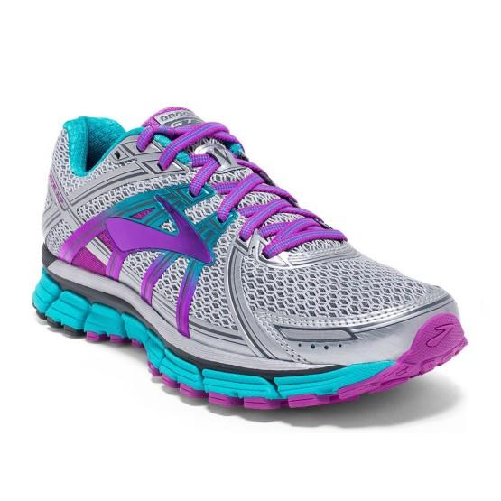 נעלי ברוקס לנשים Brooks Adrenaline GTS 17 - אפור