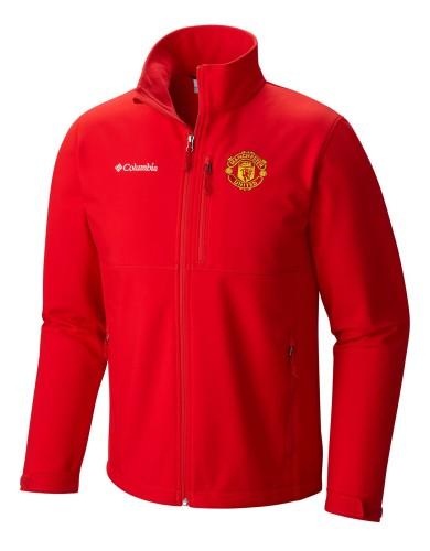 מוצרי קולומביה לגברים Columbia Ascender Softshell Manchester United - אדום