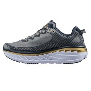 נעלי הוקה לגברים Hoka One One Bondi 5 Wide - אפור