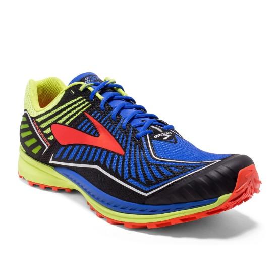 נעלי ברוקס לגברים Brooks Mazama - כחול/צהוב