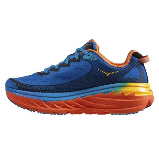 נעלי הוקה לגברים Hoka One One Bondi 5 - כחול/כתום