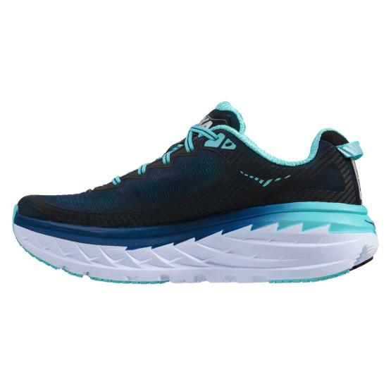 נעלי הוקה לנשים Hoka One One Bondi 5 Wide - כחול כהה