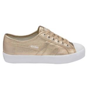נעלי גולה לנשים Gola Coaster Metallic - זהב