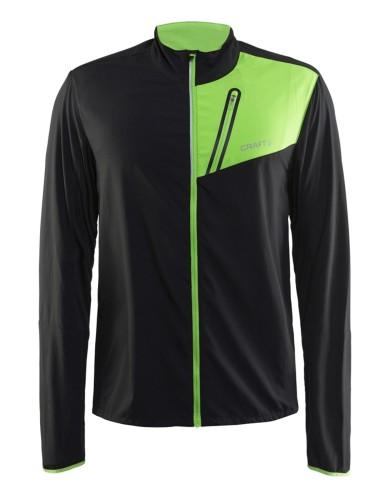 מוצרי Craft לגברים Craft Devotion Jacket - שחור/ירוק
