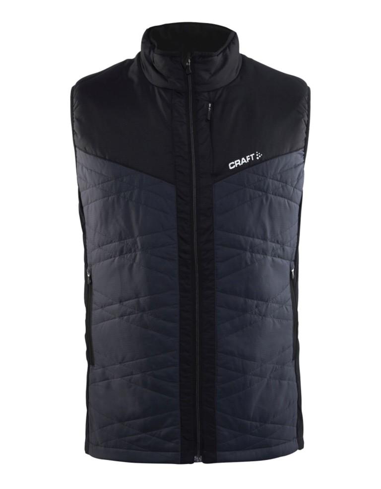 מוצרי Craft לגברים Craft Insulation Vest - שחור/אפור