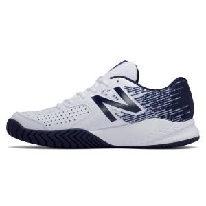 נעלי ניו באלאנס לגברים New Balance MC696 V3 - כחול/לבן