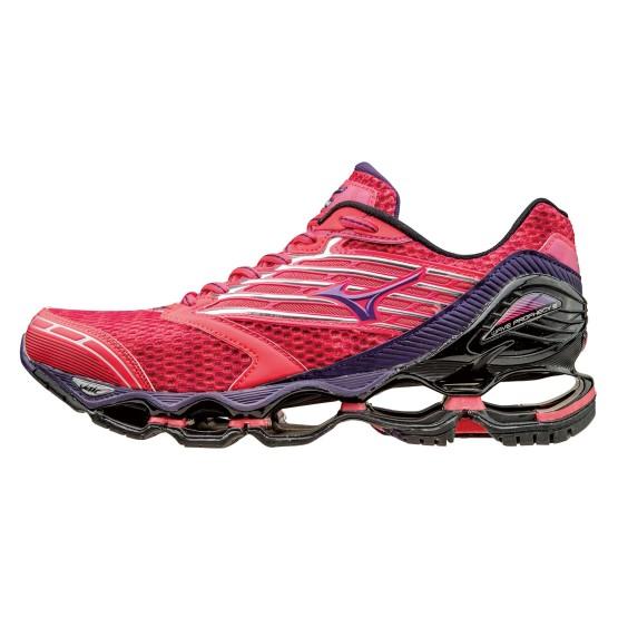 נעלי מיזונו לנשים Mizuno Wave Prophecy 5 - ורוד