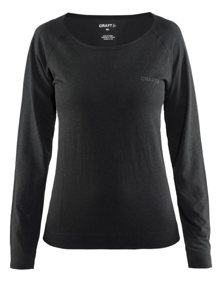 מוצרי Craft לנשים Craft Seamless Touch Long Sleeve - שחור