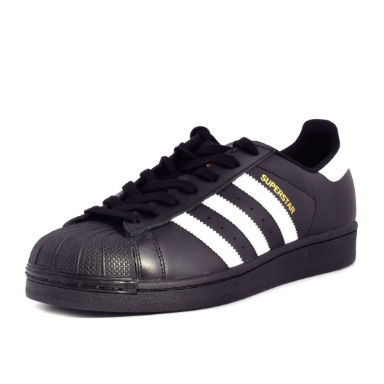 נעלי אדידס לגברים Adidas Superstar Foundation - שחור