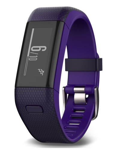 מוצרי Garmin לנשים Garmin Vivosmart HR Plus - סגול