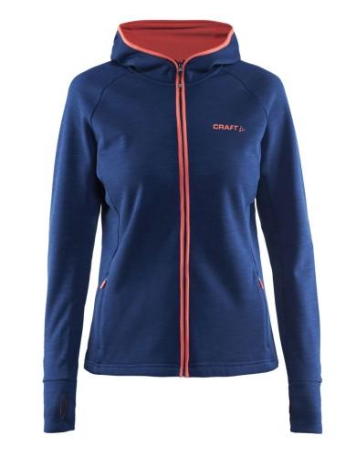 מוצרי Craft לנשים Craft Warm Hood Jacket - כחול כהה