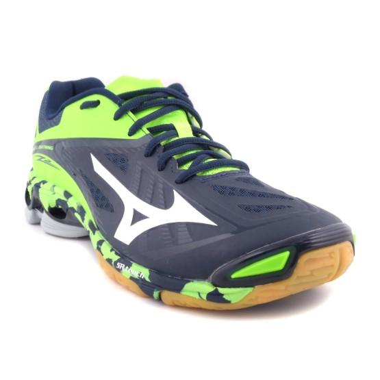 מוצרי מיזונו לגברים Mizuno Wave Lightning Z2 - שחור/ירוק