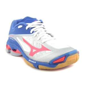 נעלי מיזונו לנשים Mizuno Wave Lightning Z2 - כחול/לבן