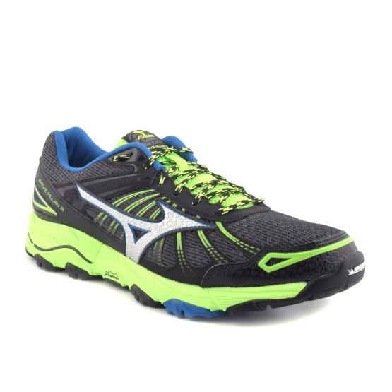 נעלי מיזונו לגברים Mizuno Wave Mujin 3 - שחור/ירוק