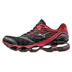 נעלי מיזונו לגברים Mizuno Wave Prophecy 5 - שחור/אדום