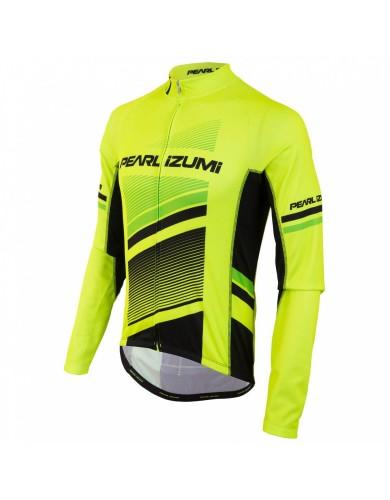 מוצרי פרל איזומי לגברים Pearl Izumi Elite Thermal LTD Jersey - צהוב