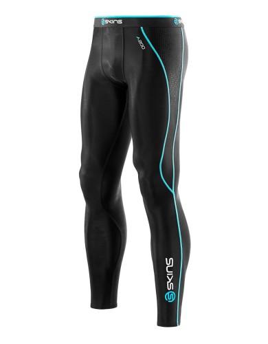 מוצרי Skins לגברים Skins A200 Long Tights - שחור/כחול
