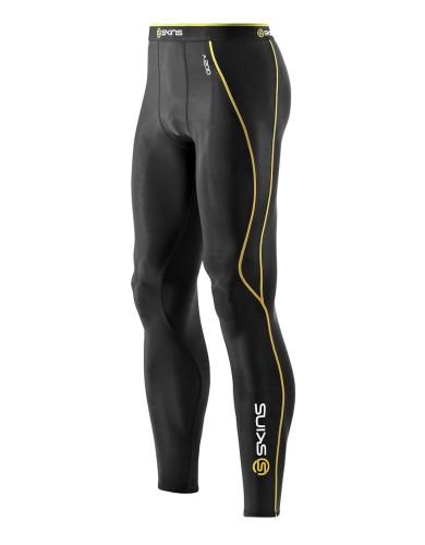 מוצרי Skins לגברים Skins A200 Long Tights - שחור/צהוב