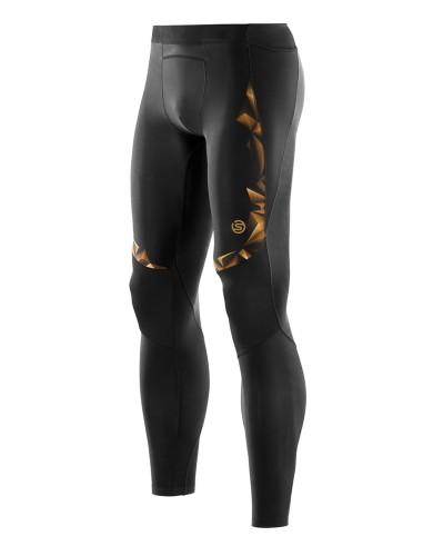 מוצרי Skins לגברים Skins A400 Long Tights - שחור/כתום