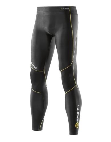 מוצרי Skins לגברים Skins A400 Long Tights - שחור/צהוב