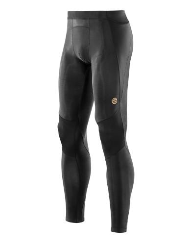 מוצרי Skins לגברים Skins A400 Long Tights - שחור מלא