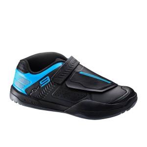 נעלי שימנו לגברים Shimano AM9 - שחור/כחול