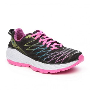 נעלי הוקה לנשים Hoka One One Clayton 2 - ורוד/שחור