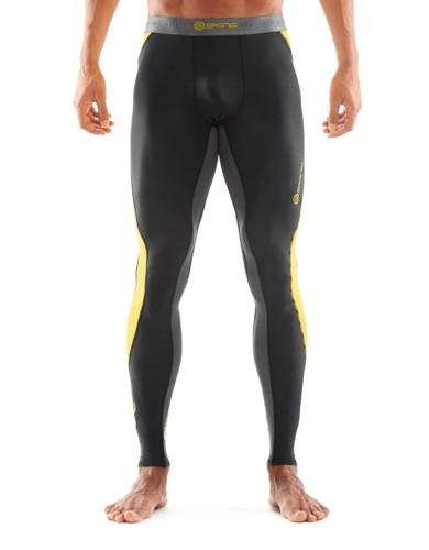 מוצרי Skins לגברים Skins DNAmic Long Tights - שחור/צהוב