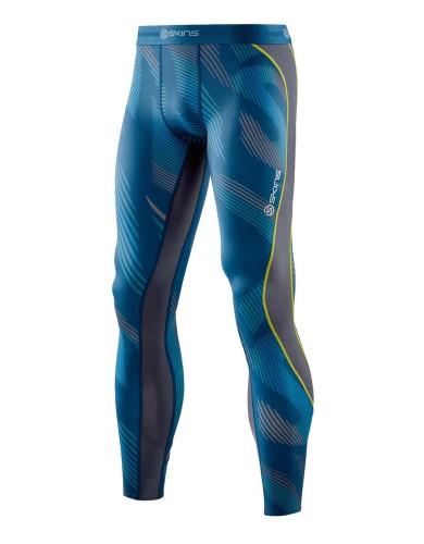 מוצרי Skins לגברים Skins DNAmic Long Tights - כחול