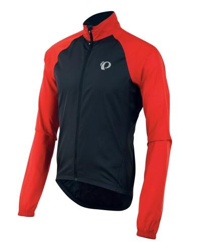 מוצרי פרל איזומי לגברים Pearl Izumi Elite Barrier Jacket - שחור/אדום