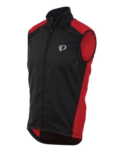 מוצרי פרל איזומי לגברים Pearl Izumi Elite Barrier Vest - שחור/אדום