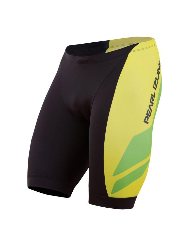 מוצרי פרל איזומי לגברים Pearl Izumi Elite InRCool LTD Tri Short - שחור/ירוק