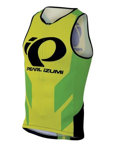 מוצרי פרל איזומי לגברים Pearl Izumi Elite InRCool LTD Tri Singlet - צהוב