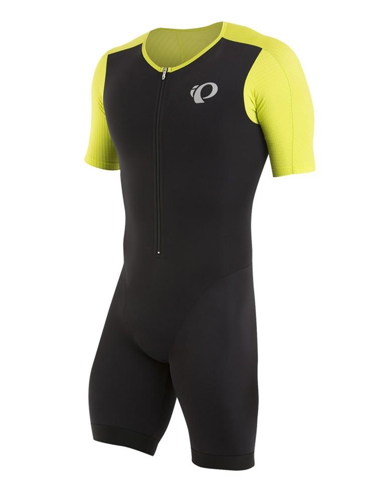 מוצרי פרל איזומי לגברים Pearl Izumi Elite Pursuit Tri Speed Suit - שחור/צהוב
