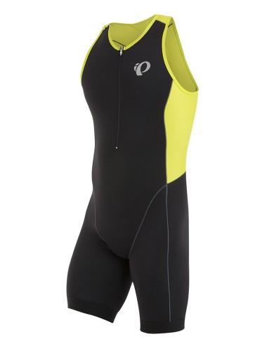 מוצרי פרל איזומי לגברים Pearl Izumi Elite Pursuit Tri Suit - שחור/צהוב