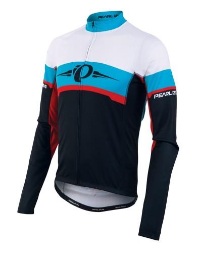 מוצרי פרל איזומי לגברים Pearl Izumi Elite Thermal LTD Jersey - שחור/לבן
