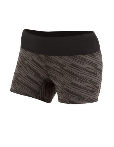 נעלי פרל איזומי לנשים Pearl Izumi Flash Short Tight Print - שחור/אפור