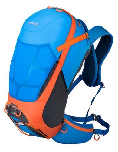 מוצרי שימנו לנשים Shimano Hotaka X-Alp 24L - כחול/כתום