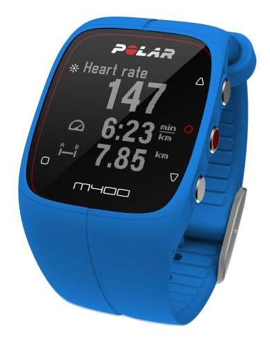 מוצרי Polar לנשים Polar M400 GPS - כחול