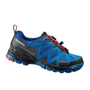 נעלי שימנו לגברים Shimano  MT54 - שחור/כחול