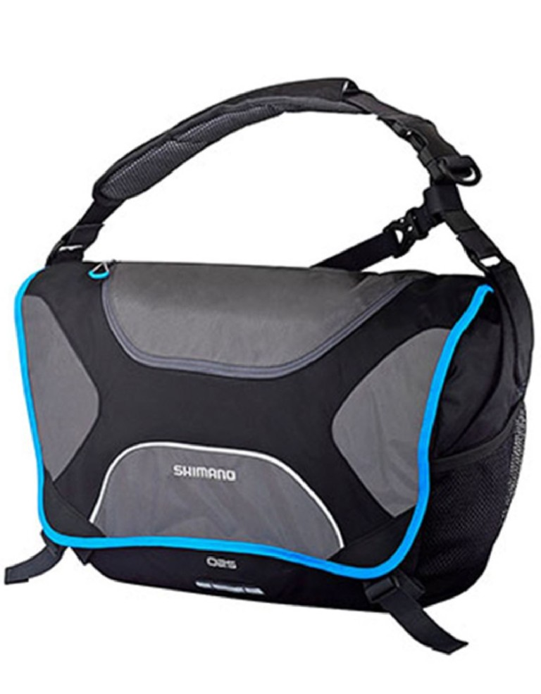 מוצרי שימנו לנשים Shimano Osaka City Messenger Bag - שחור/אפור