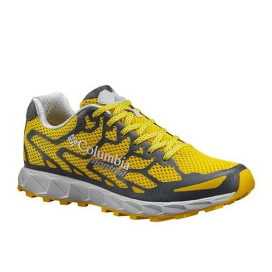 נעלי קולומביה לגברים Columbia Rogue FKT - צהוב