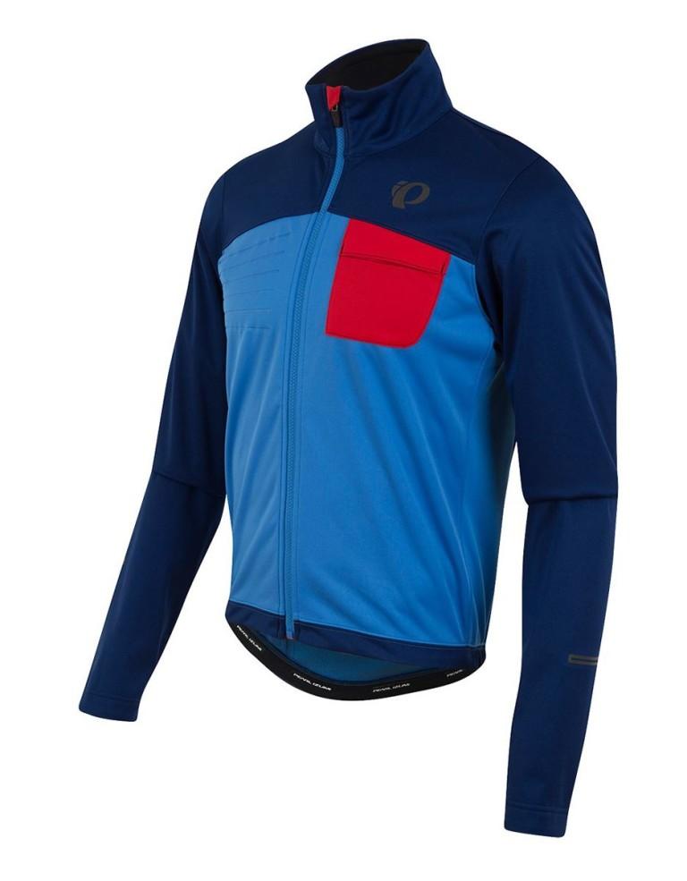 מוצרי פרל איזומי לגברים Pearl Izumi Select Escape Softshell Jacket - כחול/תכלת