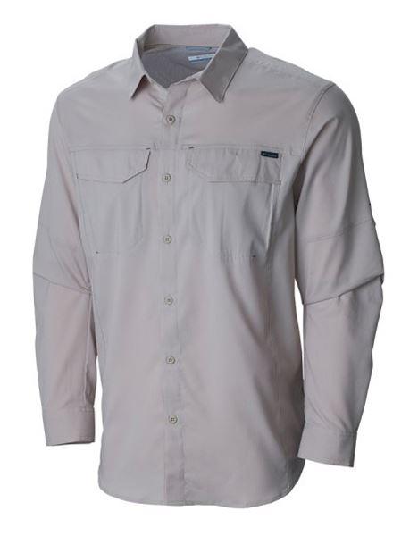 מוצרי קולומביה לגברים Columbia Silver Ridge Lite Long Sleeve - בז'