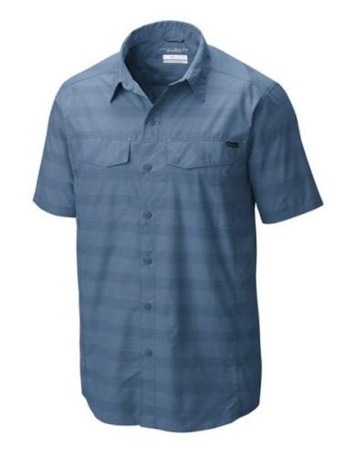 מוצרי קולומביה לגברים Columbia Silver Ridge Multi Plaid - כחול