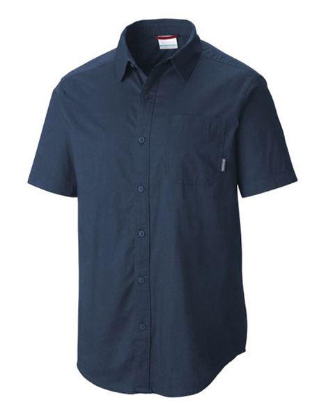 מוצרי קולומביה לגברים Columbia Thompson Hill Solid - כחול כהה