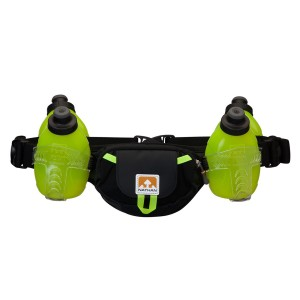 מוצרי Nathan לנשים Nathan Trail Mix 4 Plus Hydration Belt - שחור/צהוב