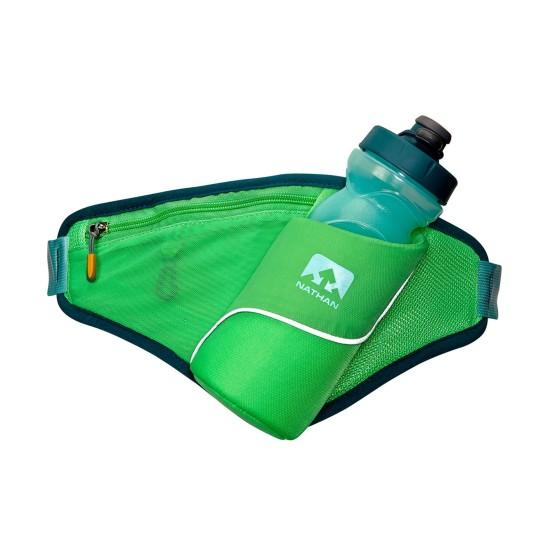 מוצרי Nathan לנשים Nathan Triangle Hydration Belt - ירוק